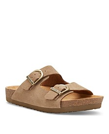 Eastland Women's Cambridge Double Strap Sandals