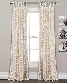 """Sophia Ruffle 84""""x40"""" Window Panel Set"""