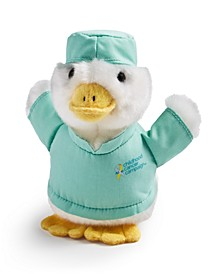 Childhood Cancer Plush Duck