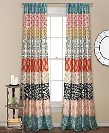 "Bohemian Stripe 84""x52"" Window Panels Set"