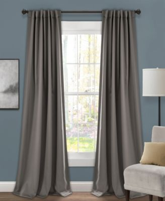 "Insulated 52"" x 84"" Blackout Curtain Set"