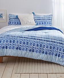 Ivory Ella Sadie Twin XL Comforter Set