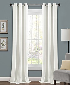 "Prima Velvet 84""x38"" Window Panel Set"