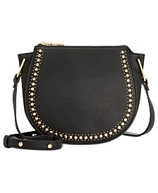 I.N.C. Rilie Saddle Crossbody, Created for Macy's