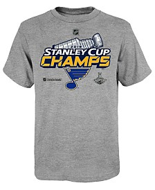 Outerstuff Big Boys St. Louis Blues 2019 Champ Locker Room T-Shirt