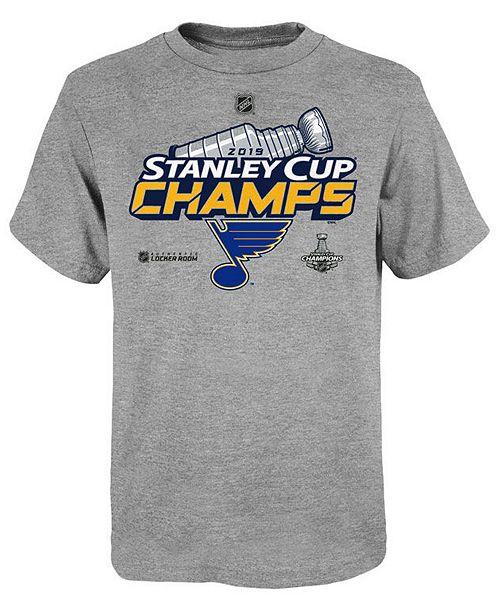 Outerstuff Big Boys St. Louis Blues 2019 Champ Locker Room T-Shirt
