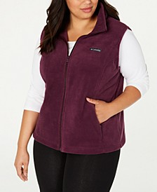 Plus Size Benton Springs Fleece Vest