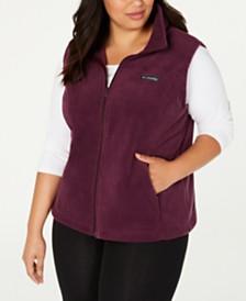 Columbia Plus Size Benton Springs Fleece Vest
