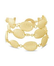 Catherine Malandrino Women's Oval Link Toggle Chain Bracelet
