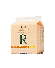 Rael Organic Cotton Regular Panty Liners
