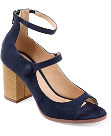 Journee Collection Women's Hipsy Heels
