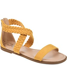 Journee Collection Women's Comfort Lucinda Sandals
