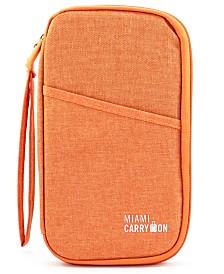 Miami CarryOn Travel Passport Bag, Travel Card Organizer