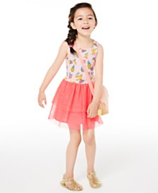 Epic Threads Little Girls Printed Tutu Dress, Created for Macy's