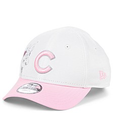 Toddlers & Little Girls Chicago Cubs Minnie Heart 9FORTY Adjustable Cap