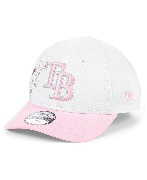 New Era Toddlers & Little Girls Tampa Bay Rays Minnie Heart 9FORTY Adjustable Cap