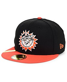 Hagerstown Suns MiLB 100TH Anniversary Patch 59FIFTY-FITTED Cap