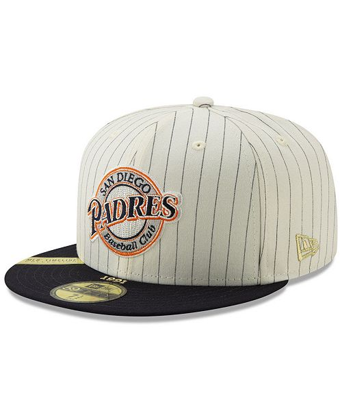check out 3403c 3a165 ... New Era San Diego Padres Timeline Collection 59FIFTY-FITTED Cap ...