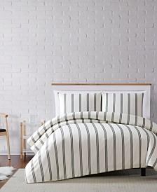 Truly Soft Millennial Stripe Full/Queen Duvet Set