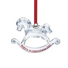 Swarovski Annual Edition 2019 Baby's 1st Christmas Ornament