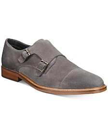 Alfani Darius Monk-Strap Oxfords, Created for Macy's