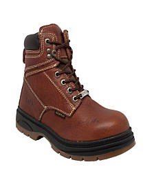 "AdTec Men's 6"" Water Resistant Steel Toe Work Boot"
