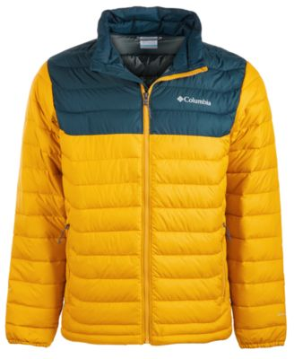 Columbia The Big Puffer Jacket Junior/'s Yellow
