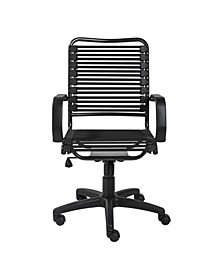 Allison Bungie Flat High Back Office Chair