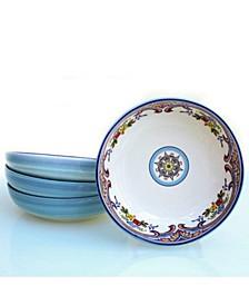 Zanzibar 4 Piece Pasta Bowl Set
