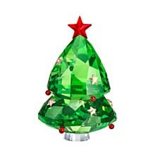 Swarovski Green Christmas Tree Figurine