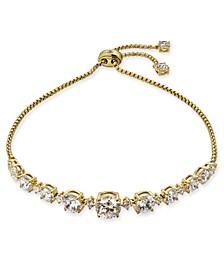Danori Cubic Zirconia Bolo Bracelet, Created for Macy's