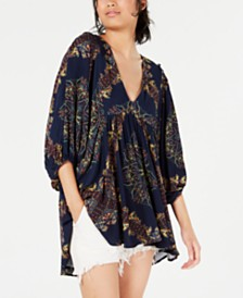 Free People Girl Talk Tunic Top