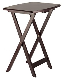 Winsome Wood Dylan 5-Piece Oversize Snack Table Set