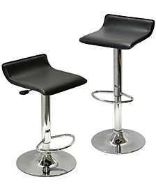 Spectrum Set of 2 Adjustable Air Lift Stool