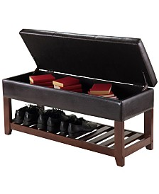 Winsome Wood Monza Bench with Storage Chest