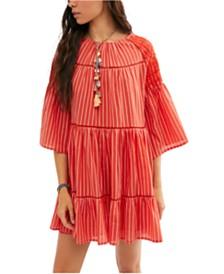 Free People Lola Embroidered Mini Dress