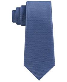 Men's Slim Textured Twill Silk Tie