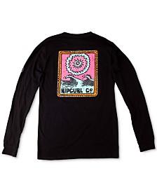 Rip Curl Men's Dreaming Graphic Long Sleeve T-Shirt
