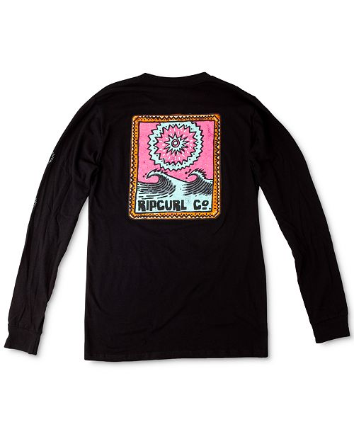 Rip Curl Men's Dreaming Graphic Long Sleeve T-Shirt