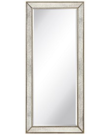 "Solid Wood Frame Covered with Beveled Antique Mirror Panels - 24"" x 54"""