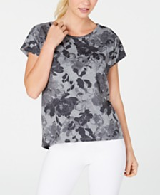 Ideology Floral-Print T-Shirt, Created for Macy's