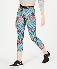 Nike Pro Printed Cropped Leggings