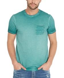 Buffalo David Bitton Men's Kolight Striped T-Shirt