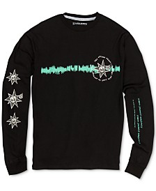Volcom Big Boys Graphic-Print Cotton Long Sleeve T-Shirt