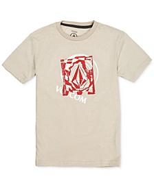 Big Boys Miss Match Logo T-Shirt