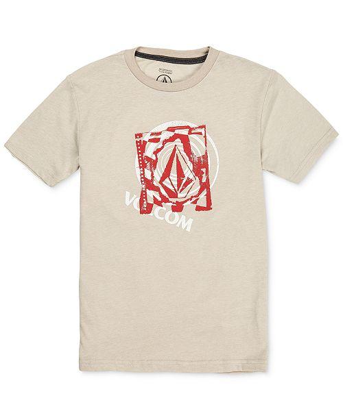 Volcom Big Boys Miss Match Logo T-Shirt