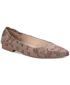 Jilly Leather Flats, Created for Macy's