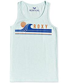 Roxy Big Girls Logo-Print Tank Top