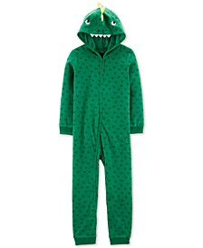 Little & Big Boys 1-Pc. Dinosaur Fleece Pajama