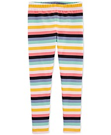 Little & Big Girls Striped Leggings